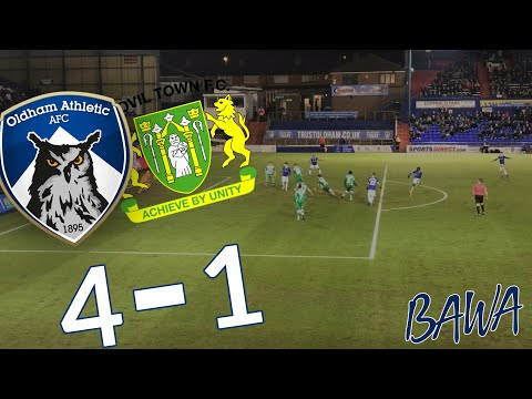 AMAZING WIN IN SCHOLES' FIRST GAME | OLDHAM VS YEOVIL VLOG