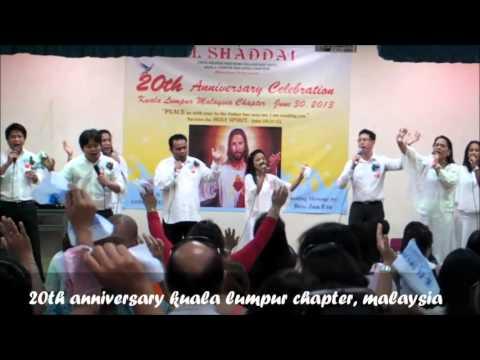 El Shaddai 20th anniversary celebration kl chapter