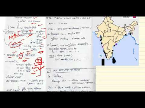 Integration of Indian states  (Hindi)