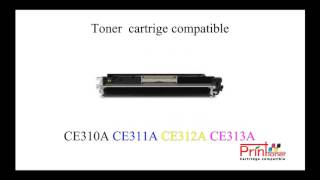 Tonerlaser for HP 126A CE310A CE311A CE312A CE313A