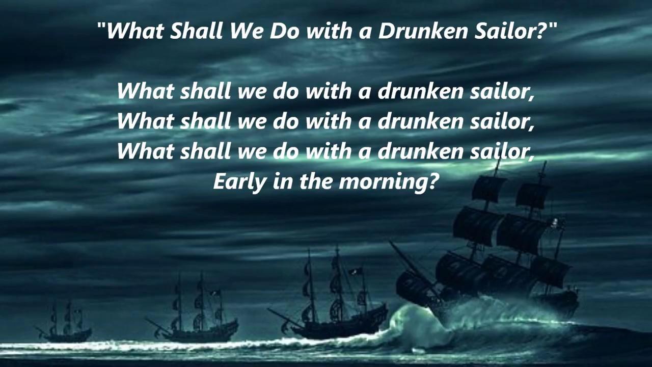 The Drunken Sailor Easy Tin Whistle Notes Irish Folk Songs