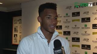 Felix Auger-Aliassime: 2019 London Second Round Win Tennis Channel Interview