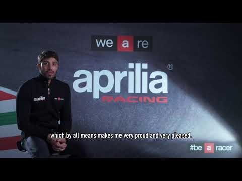 2019 Aprilia Racing - Andrea Iannone interview
