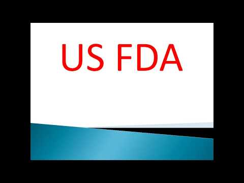 Food and drug administration(USFDA)