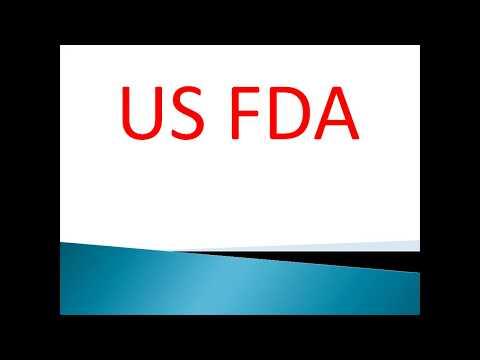 Food and drug administration(USFDA)