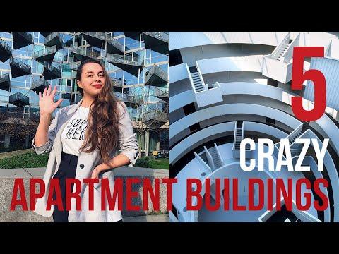 TOP 5 CRAZY APARTMENT BUILDINGS IN COPENHAGEN: Explore the architecture of BIG Builds, MVRDV & more