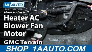 For 2010-2017 GMC Terrain Blower Motor 74859BM 2011 2012 2013 2014 2015 2016