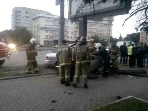 Жуткая авария во Владимире разбросало мозги