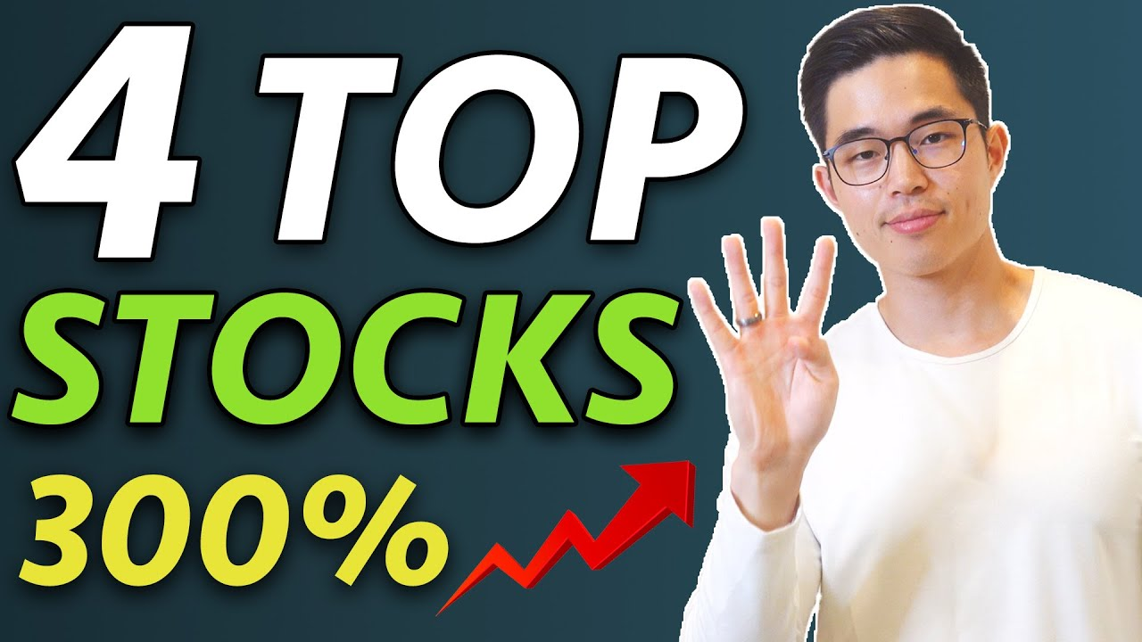 4 TOP Stocks That Could Triple in 10 Years