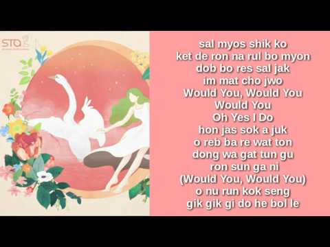 RED VELVET - WOULD U (EASY LYRICS)