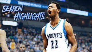 Andrew Wiggins's 2016/17 Offensive Season Highlights │Max Player