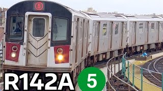 ⁴ᴷ R142A 5 Train Action