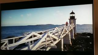 "Clip From the Movie ""Forest Gump"" Filmed at the Nearby Marshall Point Lighthouse."