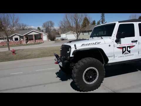 Hellcat Jeep Wrangler by Dakota Customs