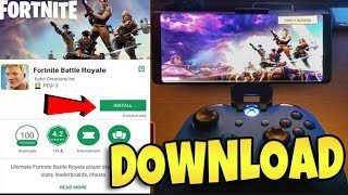 COMMENT OBTENIR FORTNITE MOBILE SUR ANDROID MAINTENANT?!