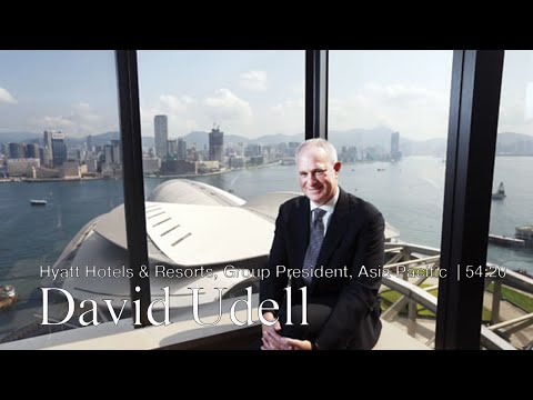 Business leader David Udell, Hyatt Hotels & Resorts, Group President, Asia Pacific