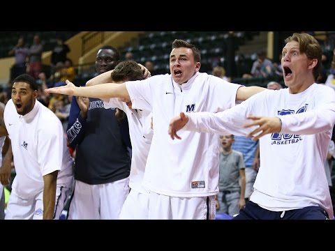 Monmouth Hawks Have the Strongest Bench Celebration in Hoops