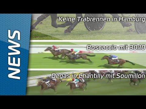 Keine Trabrennen in Hamburg - Sport-Welt TV News 8.7.2016