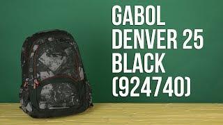 Розпакування Gabol Denver 25 Black 924740