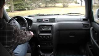 Honda CRV 5-Speed Manual Walk-Around/Test Drive(Walk-around and test drive of my 2000 Honda CRV 5-speed manual transmission. Not the most exciting video, but it gives you an idea of what this great little ..., 2013-04-13T20:49:39.000Z)