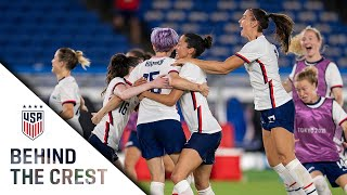 BEHIND THE CREST | USWNT Reaches Olympic Semifinal After Thriller in Yokohama