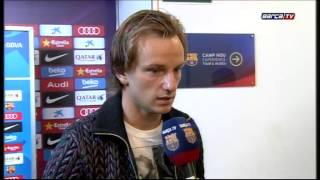 Barcelona: Ivan Rakitic and Claudio Bravo react to Clásico win