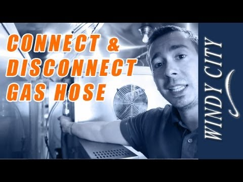 How To Connect A Gas Hose Tutorial Windy City Restaurant Equipment Repair