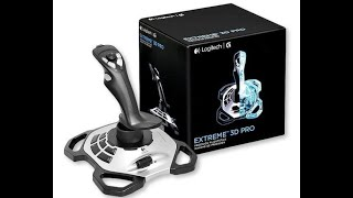 Logitech EXTREME 3D PRO (Precision flightstick) Unboxing + review and gameplay