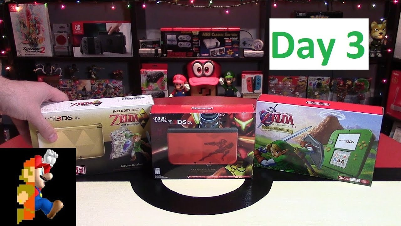 Nintendo Christmas Day 3: 3DS System (+ Daily Giveaway) - YouTube
