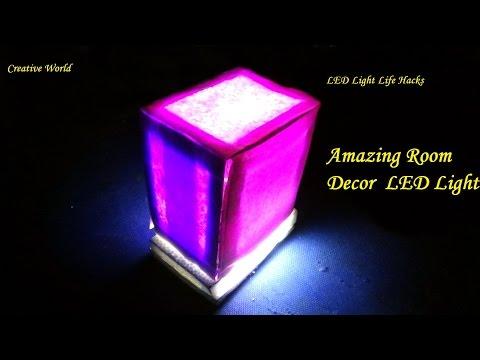 DIY - How To Make Room Decor LED Light