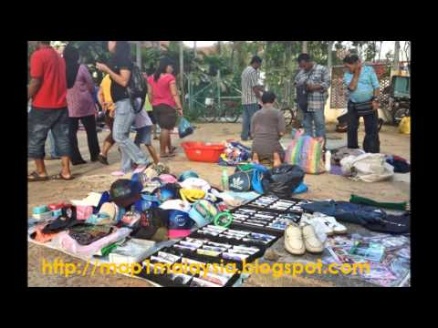 Best and First Flea Market Penang, Visit Malaysia