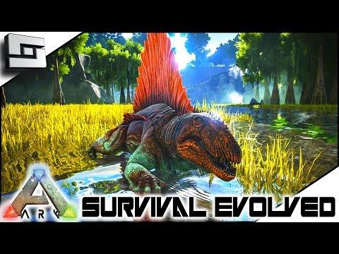 DIMETRODON AND DUNG BEETLE! Ark: Survival Evolved Spotlight