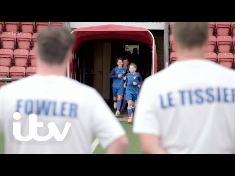 Ex-England Football Pros Take On Schoolboys! | Harry's Heroes: The Full English | ITV