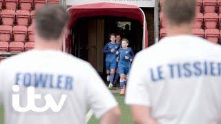Ex-England Football Pros Take On Schoolboys! | Harry's Heroes: The Full English | ITV