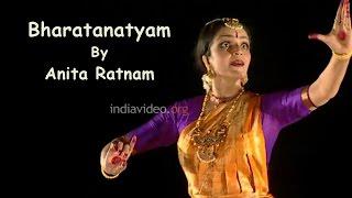 Bharatanatyam Classical Dance Performance by Anita Ratnam - Composition Sirulu Minchina