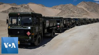 India Army Conducts Mİlitary Exercises Near China Border