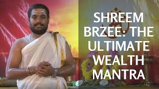 Shreem Brzee - Powerful Mantra to Attract Wealth