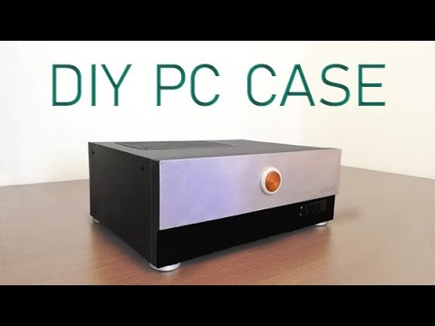 Stylish and compact PC case from scratch | DIY