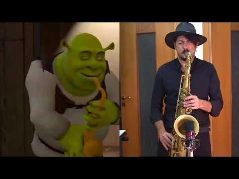 Shreksophone 🎷(with a real sax)