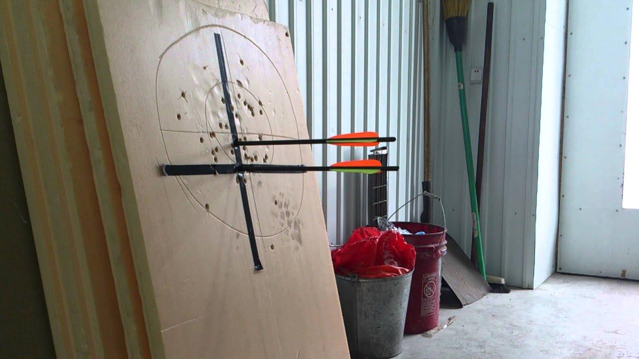 Щит для стрельбы из лука своими руками