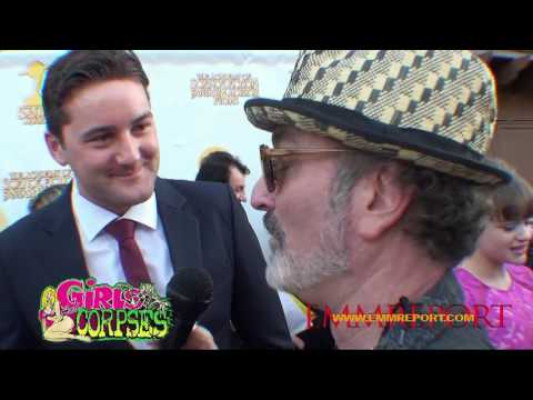 JAV STAR Exclusive Emmett Skilton  at the Saturn Awards