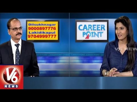Career Point | Fire & Safety course | Hyderabad Institute of Fire Engineering | V6 News