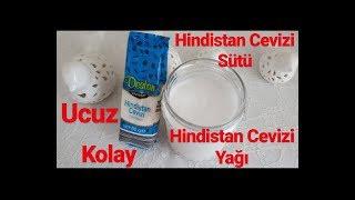 1,20TL ye Hindistan Cevizi Sütü ve Yağı (Bim içerir)