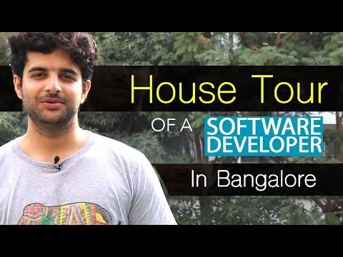House Tour of a Software Developer in Bangalore
