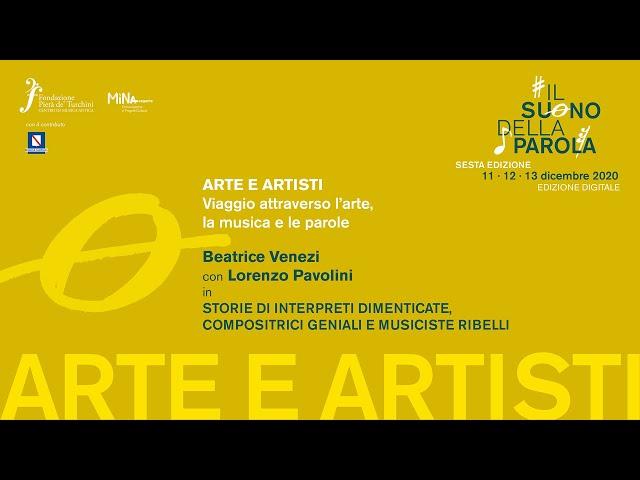 Venerdì 11 dicembre 2020 - Arte e Artisti