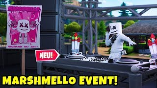 😱 Marshmello's Fortnite Party! | This will happen in Pleasant Park!