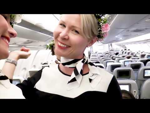 Midsummer flight to Fukuoka