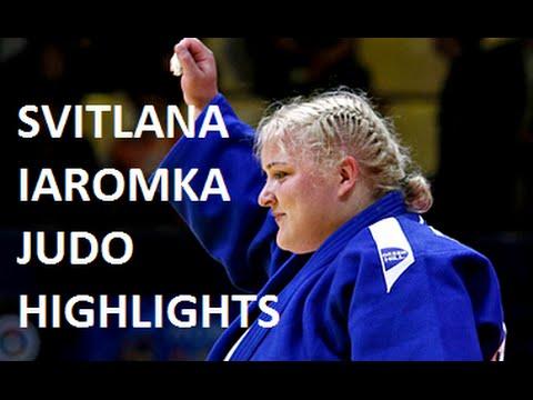 SVITLANA IAROMKA (UKR) JUDO HIGHLIGHTS