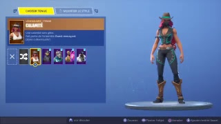 I'm changing the YouTuber skin on Fortnite 2