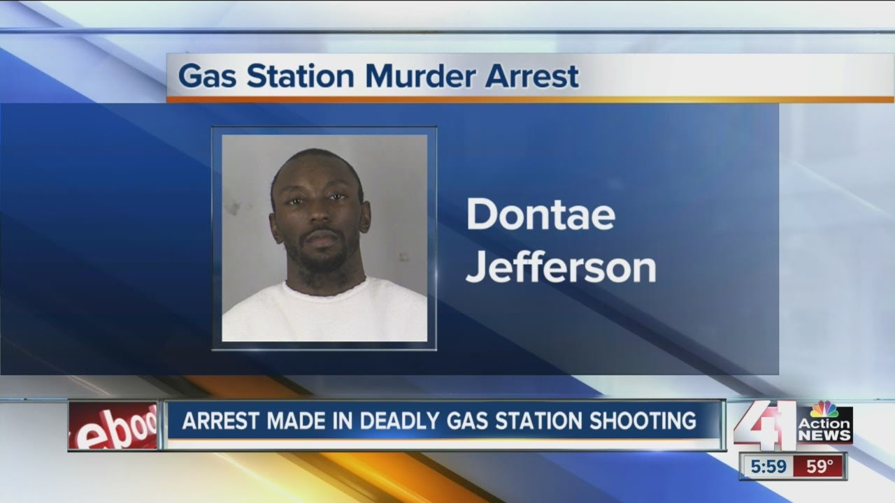 Arrest Made In Fatal Gas Station Shooting YouTube